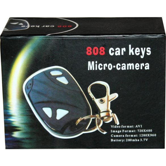 Kulcstartó kamera 808