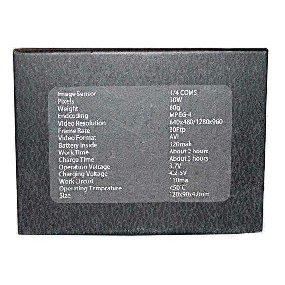 Éjjellátó HD autóriasztó kamera
