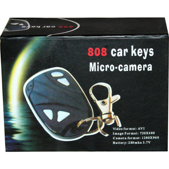 Kulcstartó kamera 808B 1280*960 pixel