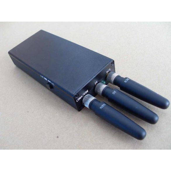 Hordozható GPS+GSM jelzavaró