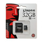 32 GB Kingston MicroSDHC kártya class 10 + SD adapter