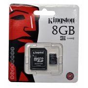 8 GB  MicroSDHC kártya class 4