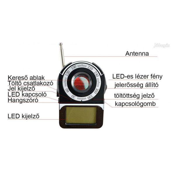 Poloska és kamera kereső eszköz