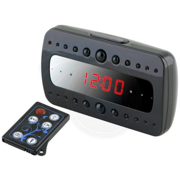 Éjjellátó asztali óra kamera