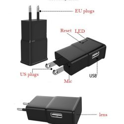 8GB WIFI USB töltő kamera