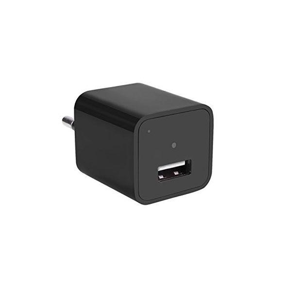 Mini hálózati adapternek álcázott kamera