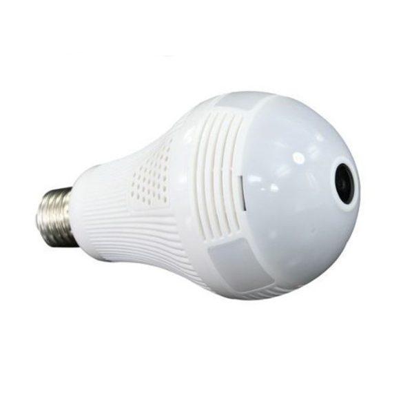 360 fokos villanykörte kamera