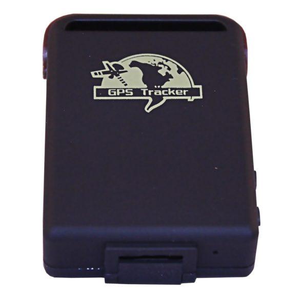GPS nyomkövető microSD kártyás TK102B