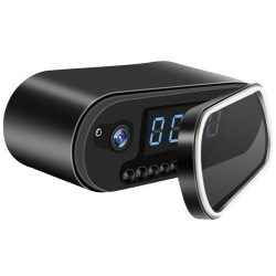 WiFi, infra asztali óra kamera